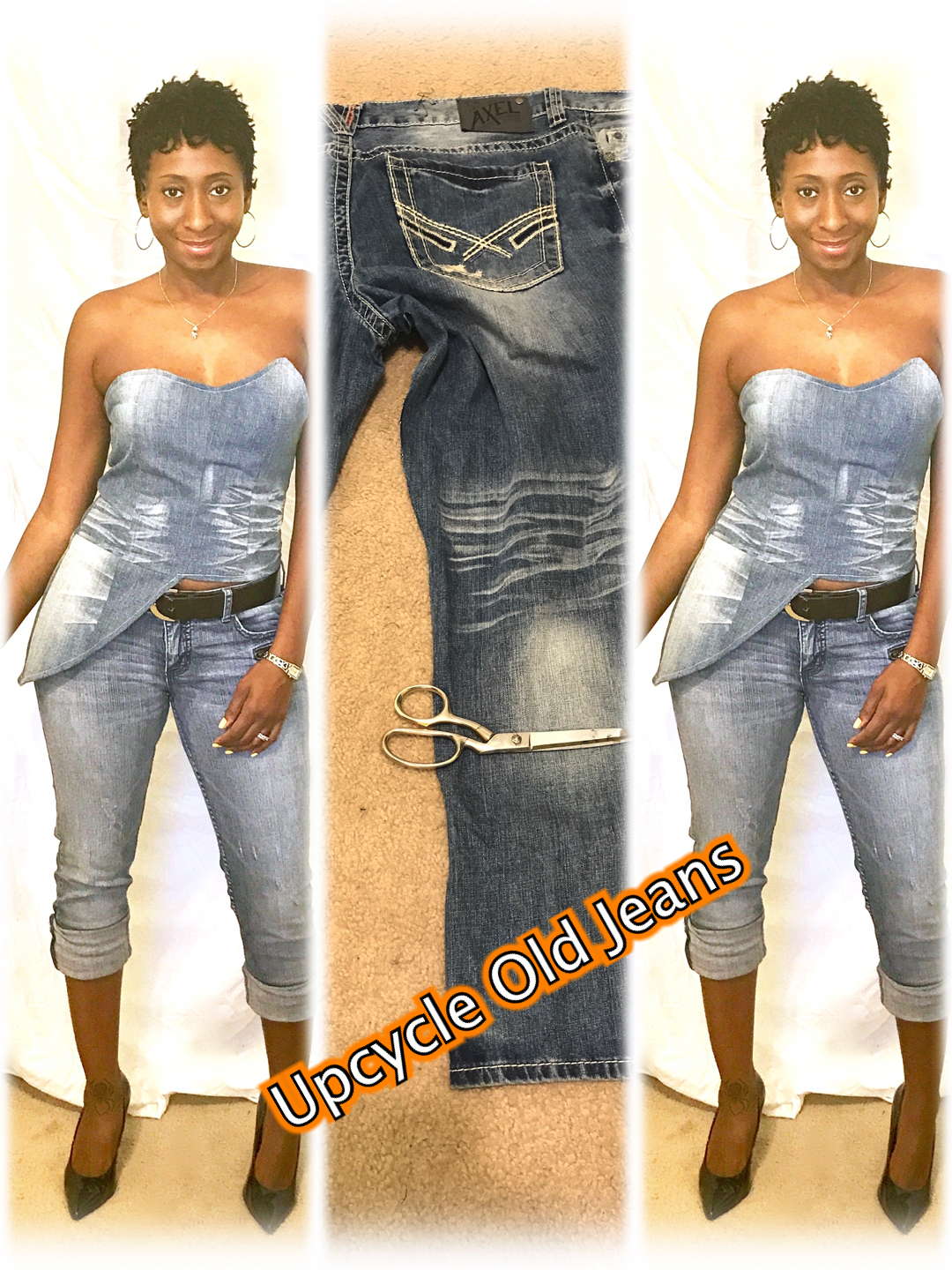 How to Upcycle Old Jeans